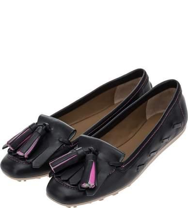 Мокасины женские Emporio Armani X3B043 XF261N815 черные 40 IT