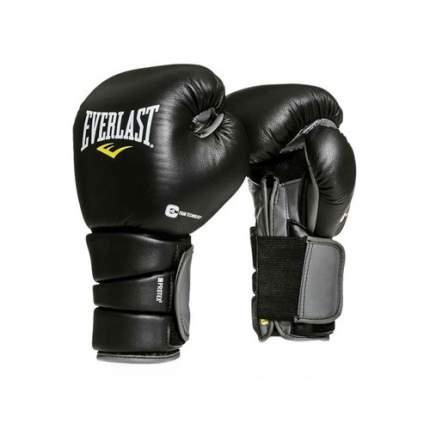 Боксерские перчатки Everlast Protex3 черные 16 унций