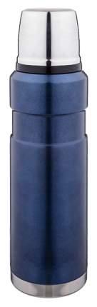 Термос Agness 910-082 0,8 л с крышкой-чашкой синий