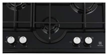 Встраиваемая варочная панель газовая Electrolux GME263XB Black