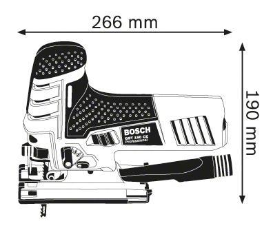 Сетевой лобзик Bosch GST 150 CE 601512000