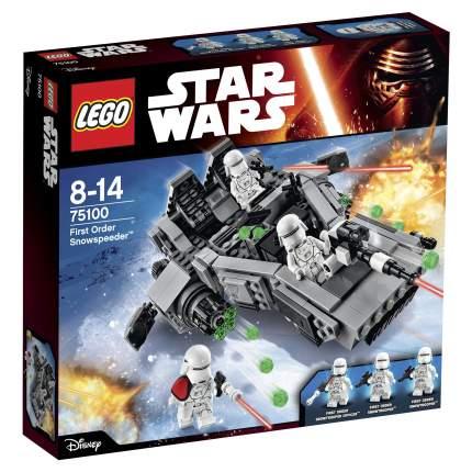 Конструктор LEGO Star Wars Снежный спидер Первого Ордена (First Order Snowspeeder) (75100)