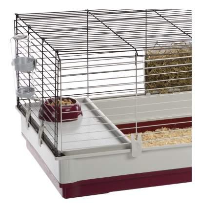 Клетка для кроликов Ferplast 50х60х162см складная конструкция, съемные перегородки