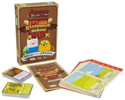 Настольная игра Hobby World Время приключений Карточные войны Финн против Джейка 1618