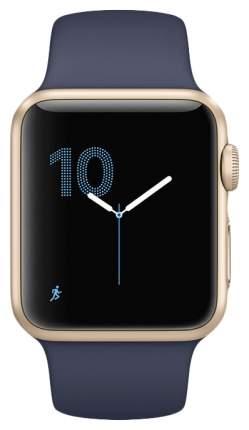 Смарт-часы Apple Watch Series 2 42mm Gold Al/Blue (MQ152RU/A)