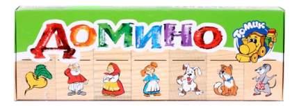 Семейная настольная игра Томик Домино Репка
