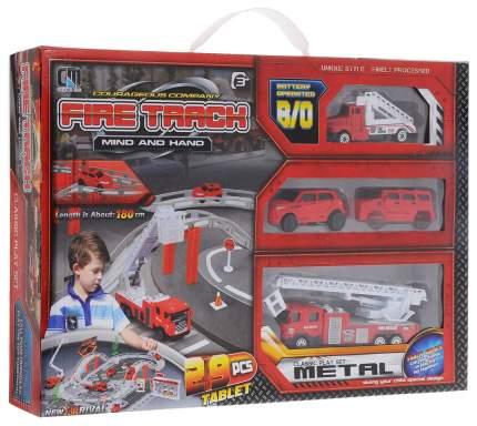 Автотрек Junfa Toys Пожарная станция CM557-12