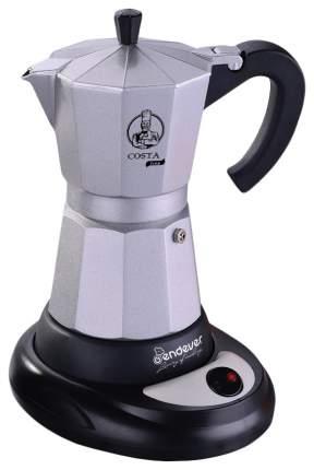 Гейзерная кофеварка Endever Costa-1010 Black/Silver