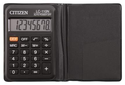 Калькулятор CiTiZEN LC-110N Черный