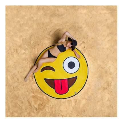 Пляжное полотенце BigMouth желтый, коричневый, красный, белый, черный