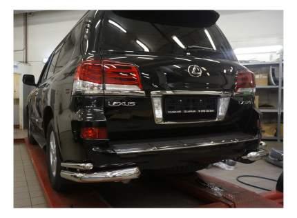 Защита заднего бампера Can Otomotiv для Lexus LE57.53.1573