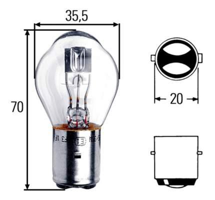 Лампа Hella 35W 8GD 002 084-131