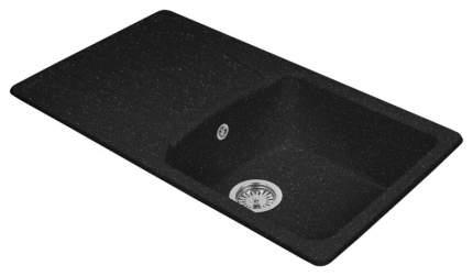 Мойка для кухни гранитная AquaGranitEx m-12 черный