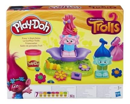 Набор для лепки из пластилина Play-Doh Тролли в парикмахерской