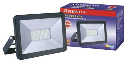 Прожектор светодиодный Ultraflash LFL-5001 C02 черный, 1 шт
