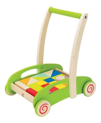 Каталка детская Hape С кубиками