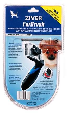 Фурминатор для собак ZIVER, длина шерсти любая, черный