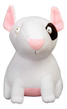 Мягкая игрушка Babyhit Плюшевая Собака Бультерьер 28 см