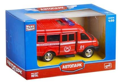 Микроавтобус Автопарк Пожарная охрана 1:50 Play Smart А74794