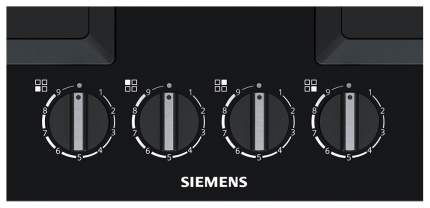 Встраиваемая варочная панель газовая Siemens EP6A6HB20R Black