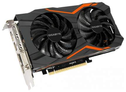 Видеокарта GIGABYTE Gaming GeForce GTX 1050 Ti (GV-N105TG1 GAMING-4GD)