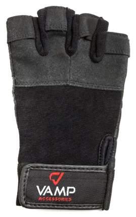 Перчатки для фитнеса и тяжелой атлетики VAMP 530 V-751 черные XL