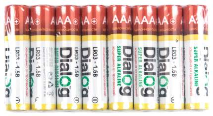 Батарейка Dialog LR03-16S 16 шт