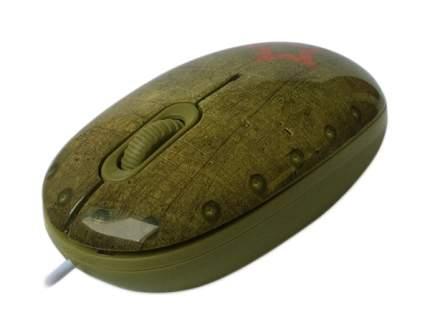 Проводная мышка CBR Tank Battle Multicolored