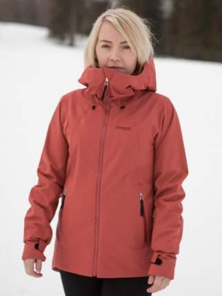 Спортивная куртка женская Bergans Stranda Insulated Hybrid, lounge/bordeaux, L