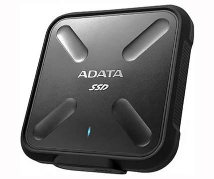 Внешний SSD накопитель ADATA SD700 512GB Black (ASD700-512GU3-CBK)