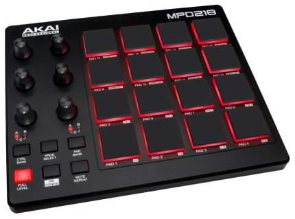 Контроллер для DJ Akai PRO MPD218 A060163