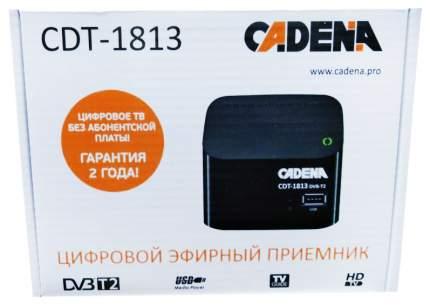DVB-T2 приставка Cadena CDT-1813 Black