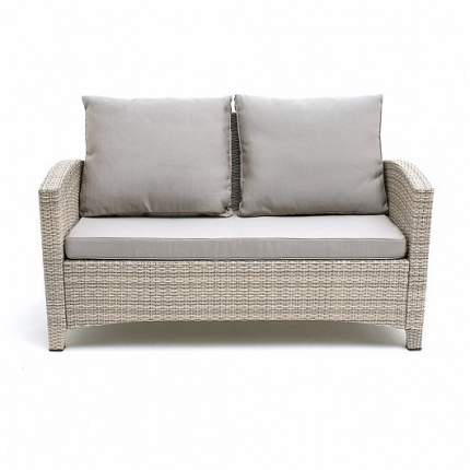 Плетеный диван S58B-W85 Latte