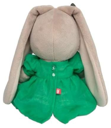 Мягкая игрушка «Зайка Ми» в зелёном платье с бабочкой, 18 см Зайка Ми