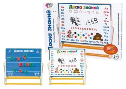 Магнитная доска для рисования с русским алфавитом и цифрами Joy Toy