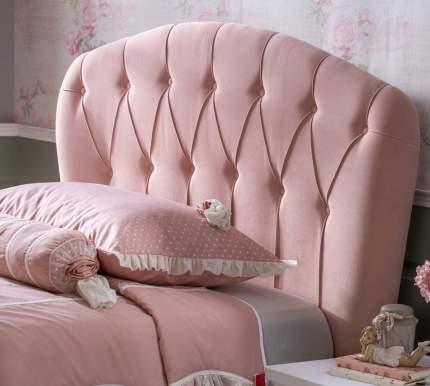 Кровать с подъемным механизмом Cilek Romantic 120х200 см, белый/розовый