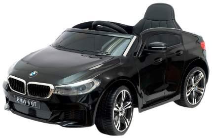 """Электромобиль """"BMW 6 Series GT"""", окраска черный, EVA колеса, кожаное сидение Sima-Land"""