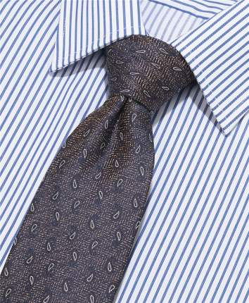 Галстук мужской HENDERSON TS-1869 коричневый