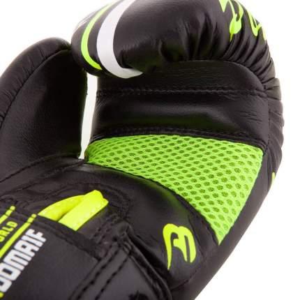 Боксерские перчатки детские Roomaif RBG-242 зеленые 4 унции