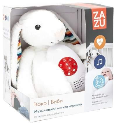 Мягкая игрушка-комфортер ZAZU Биби BIBI музыкальная