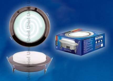 Встраиваемый светильник GX70/H5 BLACK CHROME 2109