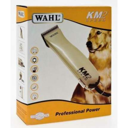 Машинка для стрижки домашних животных MOSER Wahl KM2, сталь, бежевая, 45 Вт