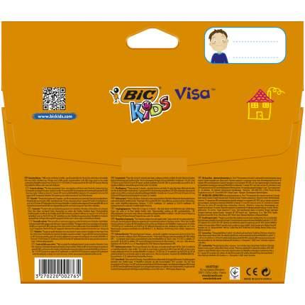 Фломастеры цветные BIC Kids Visa Коробка x18
