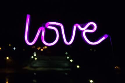 Ночник СТАРТ 13285 LED neon love