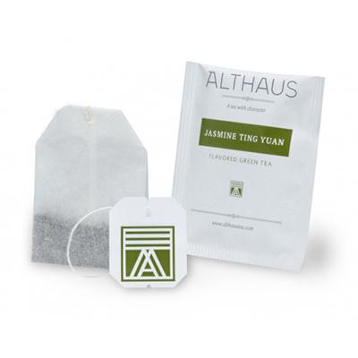 Чай зеленый пакетированный Althaus жасмин тинг юань