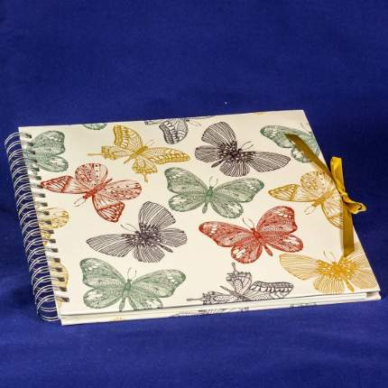 "Фотоальбом ""Бабочки"" под уголки на 50 страниц, 25х25 см"