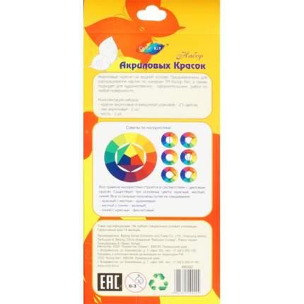 Акриловые краски Color Kit 25 цветов+лак