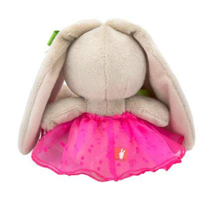 Мягкая игрушка Budi Basa Зайка Ми с букетом в розовой юбке 15 см