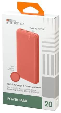 Внешний аккумулятор InterStep PB2018PD 20000 мА/ч (IS-AK-PB2018WPD-NECB201) Orange