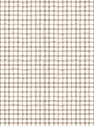 Простынь на резинке Сказка -Бежевая клеточка- натяжная 90х200х26 см 1,5-спальная